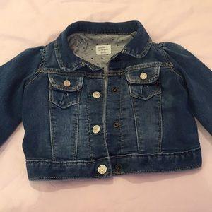 Baby girl denim jacket